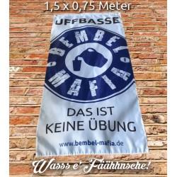 Bembel Mafia Fahne 1,5 x 0,75 m