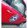 2 x BEMBEL MAFIA Auto-Aufkleber 45cm