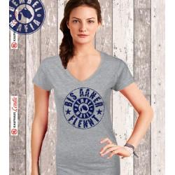 Bembel Mafia Flenner Girl V-Shirt