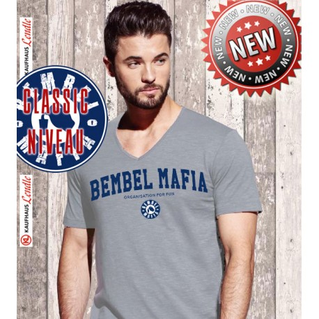 "Bembel Mafia Classic Niveau ""Collage"" V-Shirt"