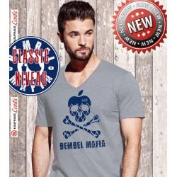 """Bembel Mafia Classic Niveau """"BIS AANER FLENNT"""" V-Shirt"""