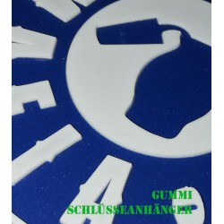 BEMBEL MAFIA PVC Schlüsselanhänger